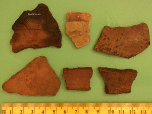 Fragmented Medieval Pottery